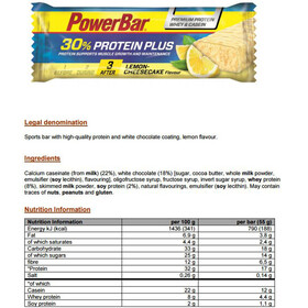 PowerBar ProteinPlus 30% Riegel Box Lemon Cheesecake 15 x 55g